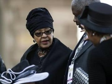 Nelson Mandela's Ex-Wife Files Suit Disputing His Will