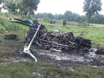 Three Army Officers Die in Cheetah Helicopter Crash in UP