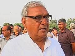 Chautala Can Only Form 'Cabinet of Prisoners', Says Chief Minister Bhupinder Singh Hooda