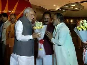 PM Modi Reaches New Delhi After Five-Day US Visit