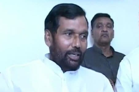 Ram Vilas Paswan Not Happy With Cleanliness in Food Ministry