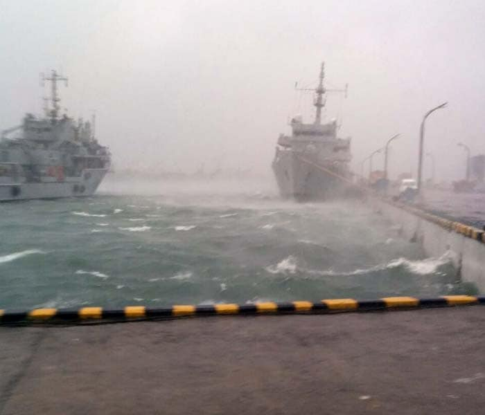 Cyclone Hudhud: Navy at Highest Alert, War-Rooms Manned
