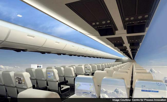 Fasten Your Seatbelts. The Windowless Plane of the Future Will be a Mile-High Thrill