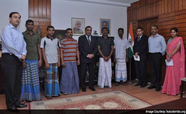 Five Fishermen Freed by Sri Lanka Return Home To Political Battle for Credit