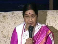 'Wait Till Tomorrow,' Says Sushma Swaraj on Possible PM Modi-Nawaz Sharif Meeting