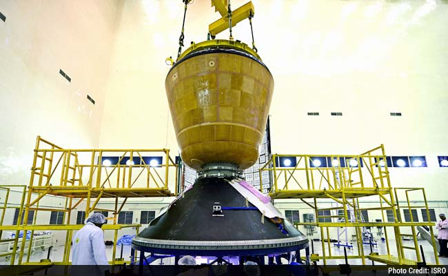 India to Push Next Space Frontier, With Launch of Crew Module in mid-December