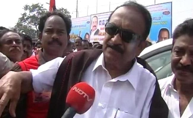 MDMK Chief Vaiko Asks Kerala Government to Oppose Neutrino Project