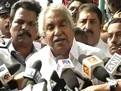 Kerala Chief Minister Oommen Chandy Defends Senior Minister Over Bribery Allegations