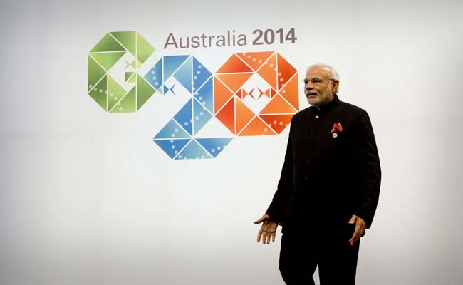 PM Narendra Modi Calls For 'Close Coordination' on Black Money at G20 Summit