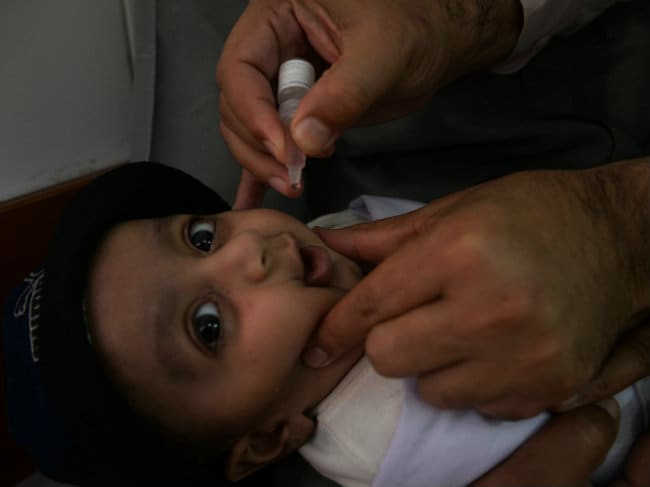 Aim to Completely Eradicate Polio by Next Year: Pakistan