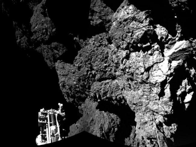 Comet Probe Philae Uploads Last-Minute Data From 'Alien World'