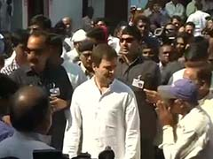 Rahul Gandhi Meets Families of Bilaspur Sterilisation Victims, Alleges Cover-Up
