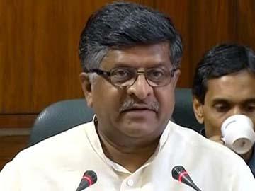 Indian Cyber Security Violations Similar to Global Trends, Says Ravi Shankar Prasad