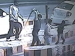 Caught on Camera: Samajwadi Party MLA's Supporters Thrash Toll Plaza Employees