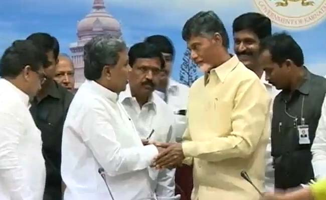 When Siddaramaiah Introduced His Friend 'Chandrababu Naidu, Seemandhra Chief Minister'