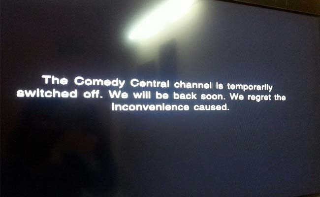 Comedy Central Yanked by Government for Allegedly Obscene Content