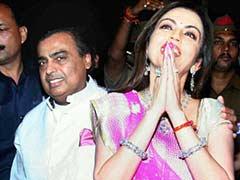 Reliance Industries Chairman Mukesh Ambani Celebrates Wife Nita's Birthday in Varanasi