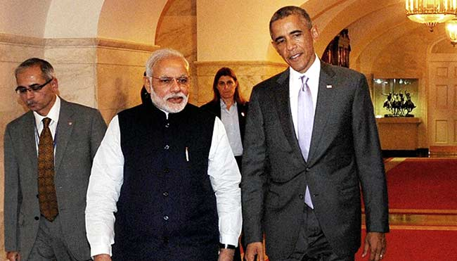 President Obama Accepts PM Modi's Invite to be Chief Guest at Republic Day
