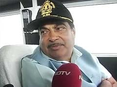 Nitin Gadkari Visits Palk Strait to Study Alternate Route For Sethusamudram
