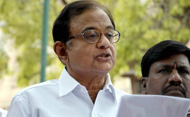 Chidambaram Says Unfair To Drag Sonia Gandhi In Delhi Cricket Body Mess