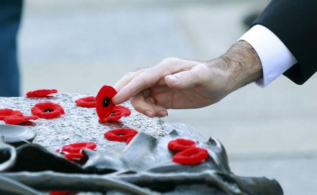 Canada Honours War Dead Weeks After Soldiers Die in Domestic Attacks