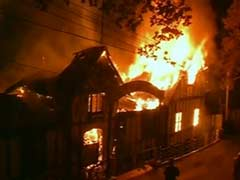 Fire Damages Major Portion of Shimla Heritage Building