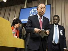 United Nations Chief Hoping For Draft of Global Climate Deal
