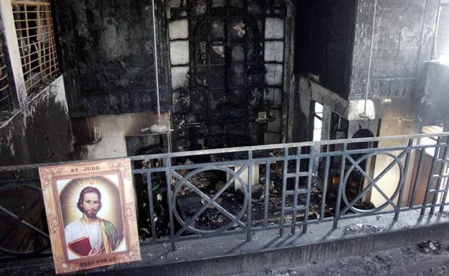 Protests After Fire in Delhi Church, Police Investigate Possible Arson