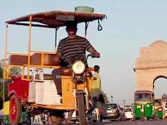 BJP to Approach Nitin Gadkari to Lift Ban on e-Rickshaws