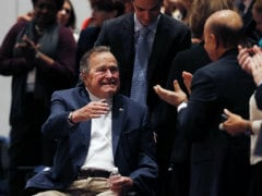 Former US President George H.W. Bush Spends Christmas in Hospital