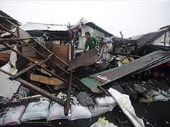 Philippine Typhoon Weakens But Leaves 21 Dead