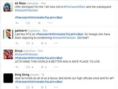 #PakWithIndiaNotoLakhviBail: A Cross-Border Show of 'Hashtag Solidarity'