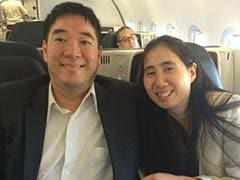 Couple Cleared In Daughter's Death Arrives in US