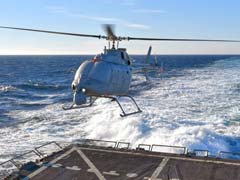 US Helicopter Drone Completes First Sea-Based Test Flight