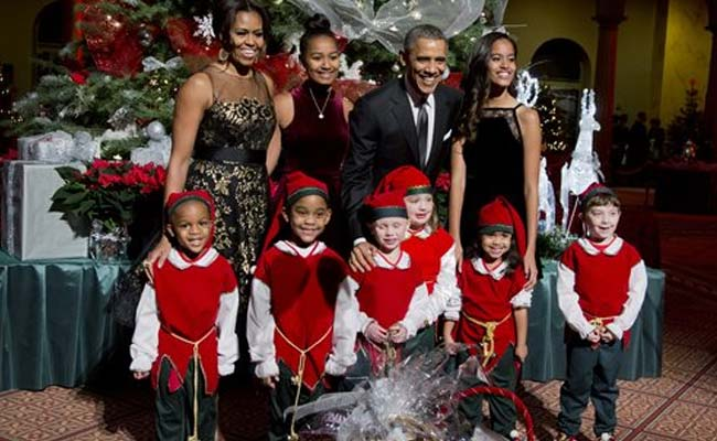 Obama Christmas.Christmas Shopping Is A Puzzle For Barack Obama Too
