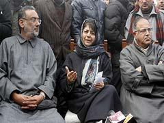 जम्मू कश्मीर : बुधवार को राज्यपाल से मुलाकात करेंगी महबूबा मुफ्ती