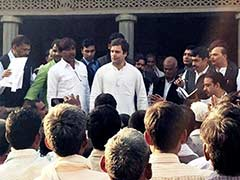 In Amethi Village He Adopted, Rahul Gandhi Suggests it's Pointless