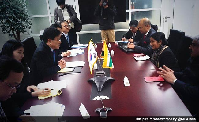 India, South Korea to Enhance Cooperation in Defence, Infrastructure Sectors
