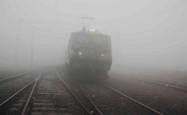 Cold Conditions Continue to Prevail in Rajasthan, Dense Fog Disrupts Train Services