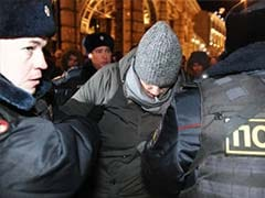 Vladimir Putin Foe Alexei Navalny Detained by Police