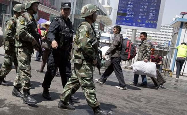 8 Sentenced To Die For Attacks In China's Xinjiang: CCTV