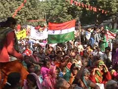 Worried Over Budget Cuts in Government's Social Schemes, Rural Workers Protest in Delhi