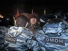 Russian Police Disperse Protest Near The Kremlin