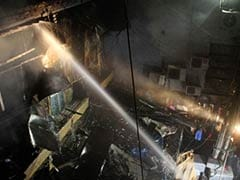 Fire Breaks Out in Delhi's Sadar Bazar
