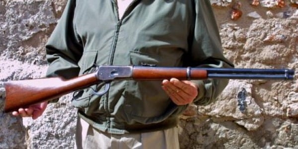 130 Year Old Wild West Rifle Found Leaning Against Tree