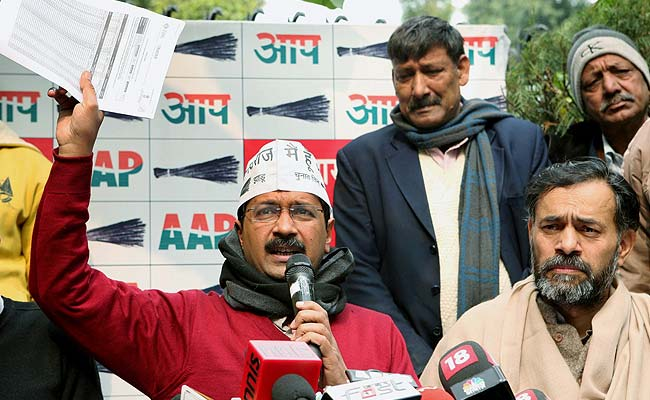 Arvind Kejriwal Levels Corruption Charges at Delhi BJP Chief, Who Hits Back