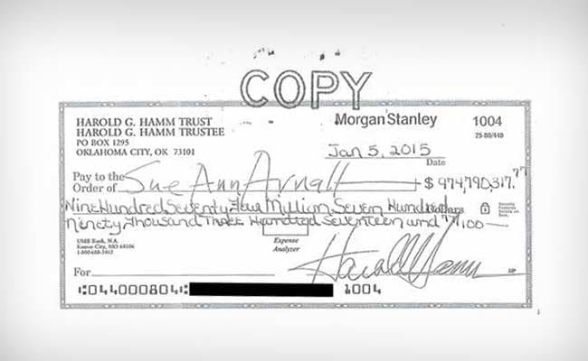 This Wife Turned Down $975 Million Divorce Cheque