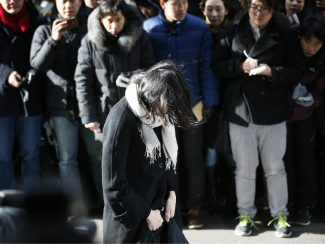 Korean Air Chairman's Daughter Charged Over Nut Case Outburst