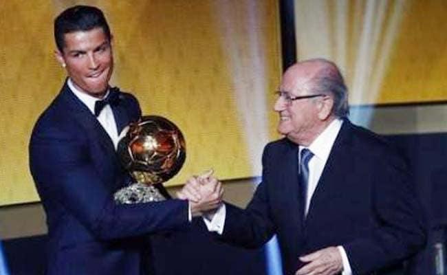 Cristiano Ronaldo Wins FIFA Ballon d'Or Award Again