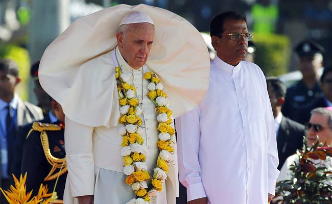 After Minorities Vote for Change of Power, Pope Francis Visits Sri Lanka